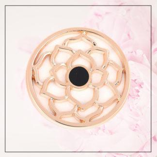 Rose Gold Lotus Coin