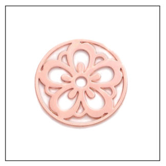rose-gold-flower-plate